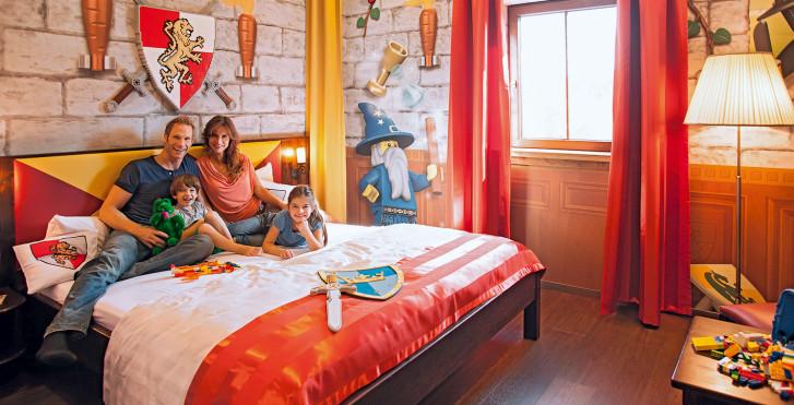 Chambre Château - Village de vacances LEGOLAND® – Châteaux incl. entrée parc