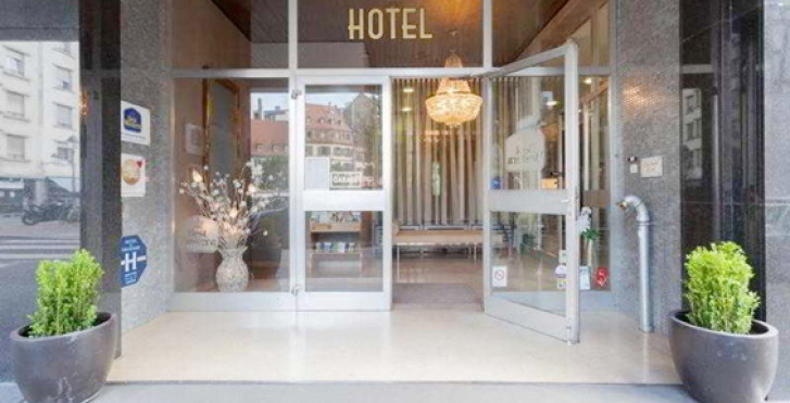 Best western hotel de france strasbourg strasbourg for Liste des hotels en france