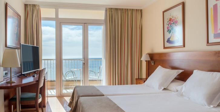 Doppelzimmer Balkon - Hotel Diamar
