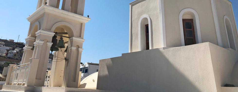 L'église à Akrotiri