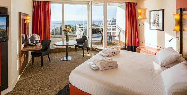 Doppelzimmer Privilège - Hotel les bains de Camargue Thalazur