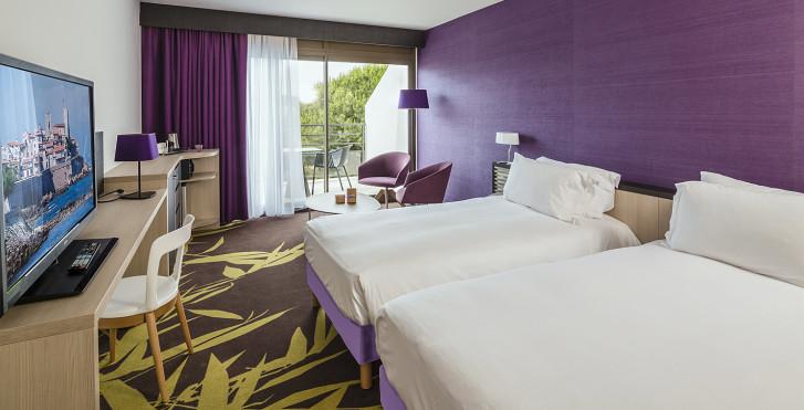 Chambre double - Hôtel Baie des Anges Thalazur Antibes