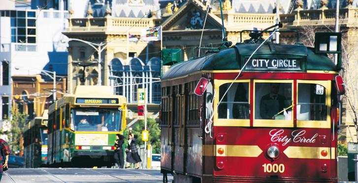 Tram, Melbourne