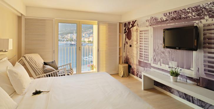 Doppelzimmer Meerblick - Hotel Osejava