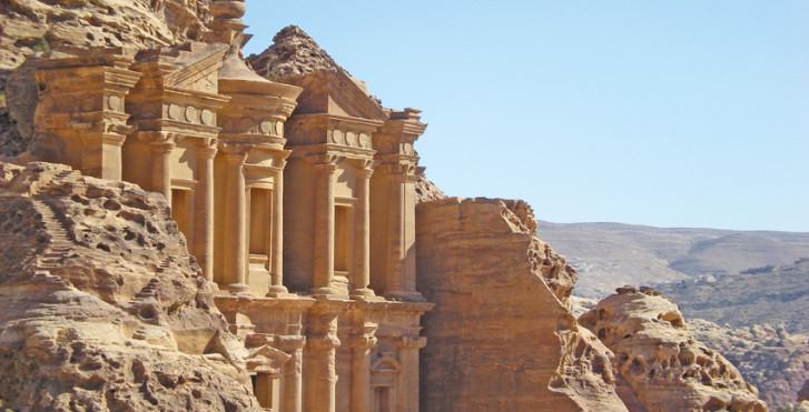 Felsentempel in Petra