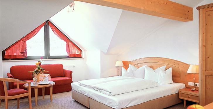Chambre double - Hôtel Alpenruh