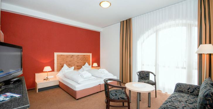 Chambre double - Hôtel Amadeus Micheluzzi