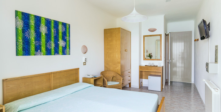 Chambre double - Hôtel Paradiso