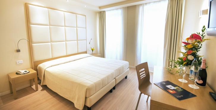 Doppelzimmer - Hotel Antico Borgo