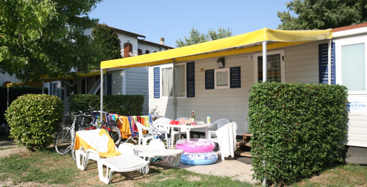 Exemple de mobil-home - Camping Village Butterfly (Happy Camp)