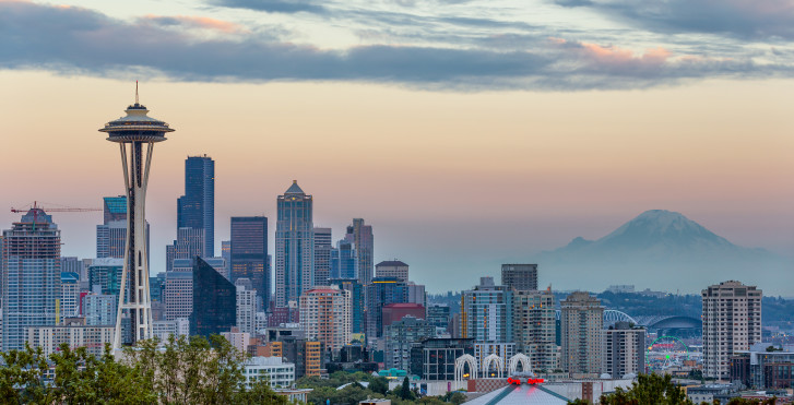 Skyline de Seattle