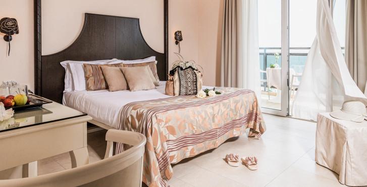 Chambre double Deluxe - Baia del Mar Beach Boutique Hotel