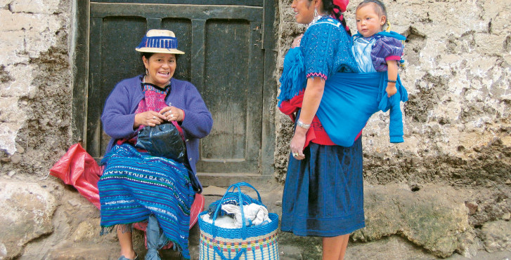 Einwohnerinnen, Guatemala City