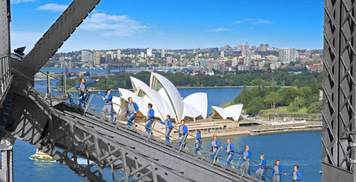 Besteigung der Harbour Bridge, Sydney