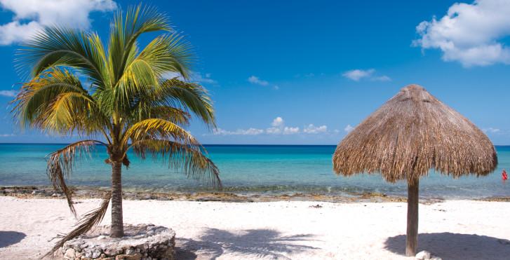 Plage de rêve, Yucatan Islands
