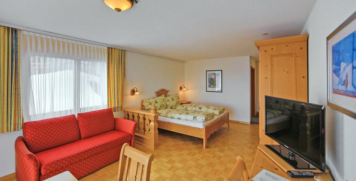 Chambre double Comfort - Hôtel Alpenrose