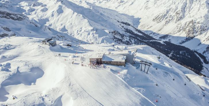Skifahren in Ischgl