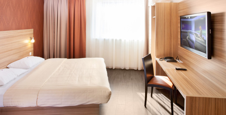 chambre standard - Star Inn Hotel Wien Schönbrunn