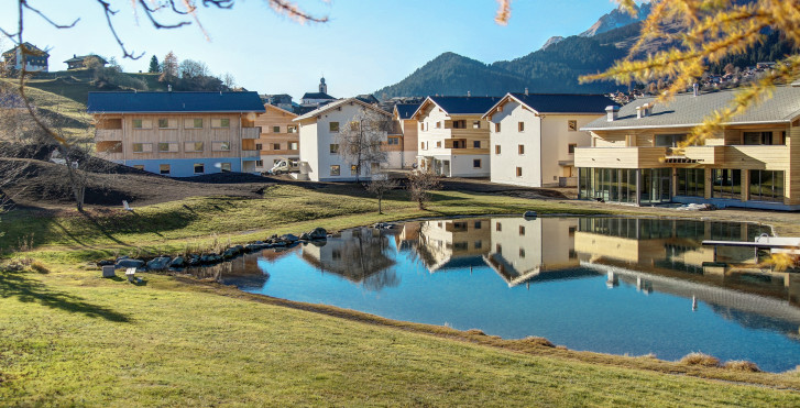 Ferienresort Pradas - Sommer inkl. Bergbahnen
