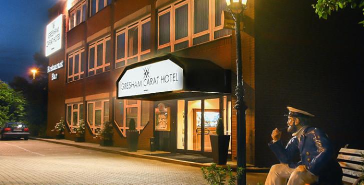 Gresham Carat Hotel Hamburg (tour du port inclus))