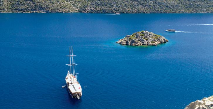 Türkei Rundreise: Blaue Reise, ab/bis Antalya