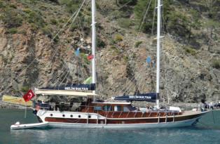 Blaue Reise, ab/bis Antalya