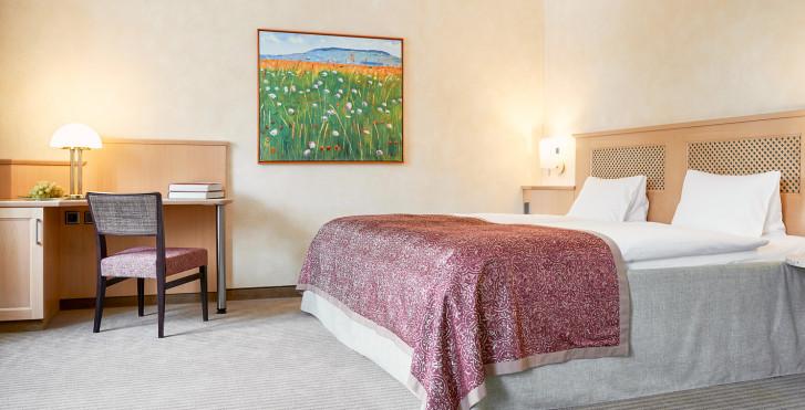 Doppelzimmer Deluxe - Cresta Palace - Skipauschale