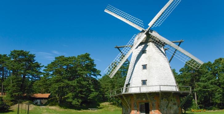 Windmühle, Lettland