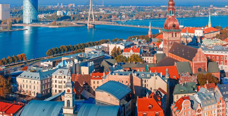 Daugava, Riga