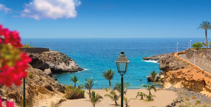 Vue fantastique sur la Playa Las Galgas