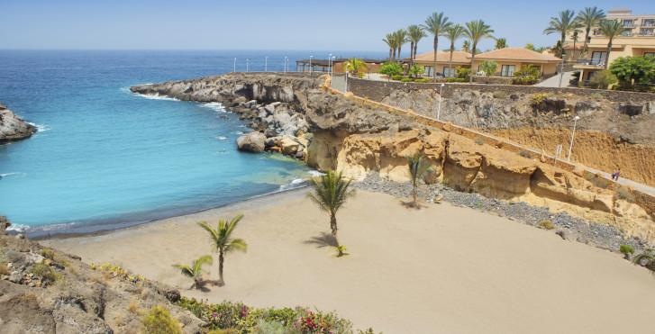 Belle plage de sable Playa Las Galgas