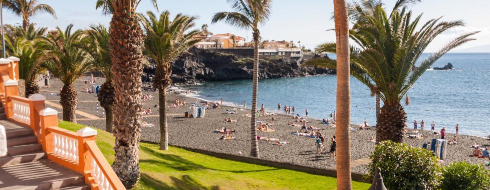 Herrlicher Sandstrand Playa de la Arena