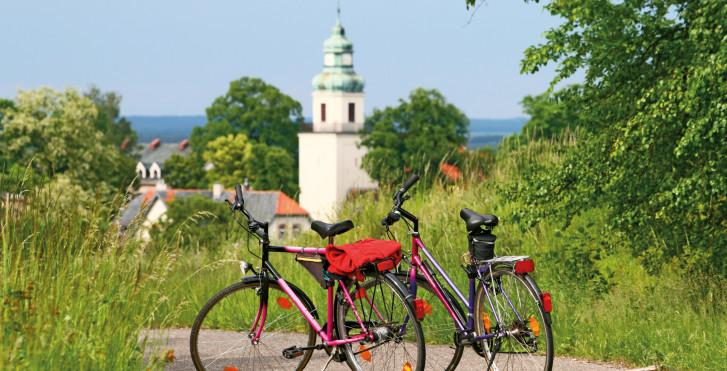 En vélo en Pologne