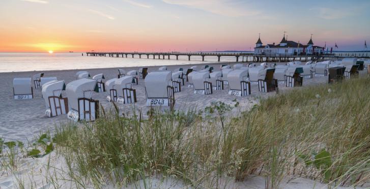 Chaises de plage, Mer Baltique