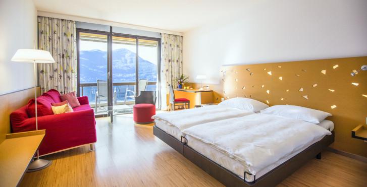 Chambre double Superior - Parkhotel Brenscino Brissago