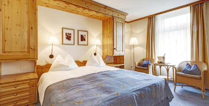 Chambre double - Hôtel Meierhof - Forfait ski
