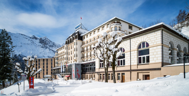 Image 24681182 - Hôtel Terrace - promotion jubilé Titlis (abo ski compris)