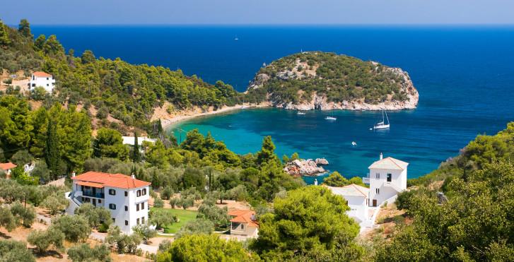 Bucht auf Skopelos