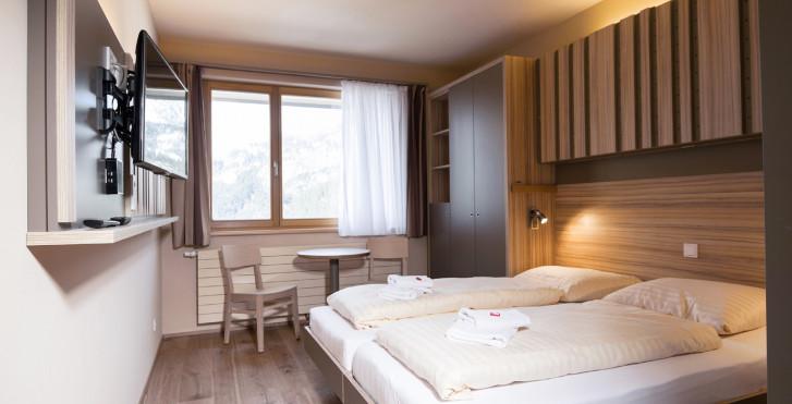 Doppelzimmer - JUFA Hotel Malbun Alpin Resort - inkl. Skipass/Bergbahnen