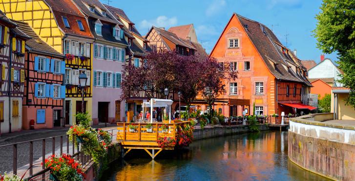 La vieille ville historique, Colmar