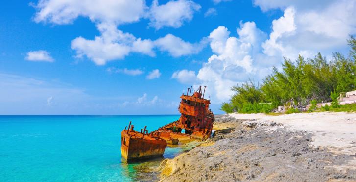 Schiffswrack, Bimini