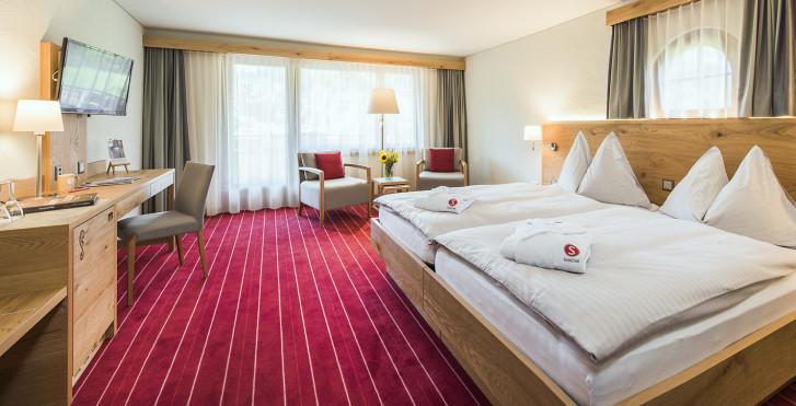 Chambre double Premium - Sunstar Hotel Klosters - Forfait ski