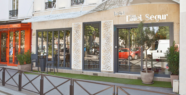 Image 25442026 - Hôtel Eiffel Segur