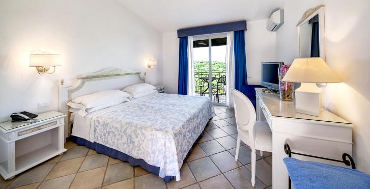 Chambre double Classic - Grand Hotel in Porto Cervo