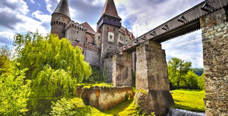 Château de Hunedoara, Transylvanie, Roumanie