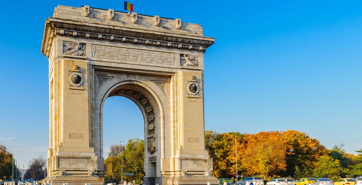Arc de triomphe, Bucarest