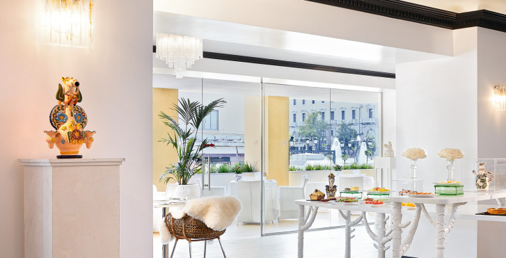 Doppelzimmer Premium Graffiti - Pallas Athena Grecotel Boutique Hotel