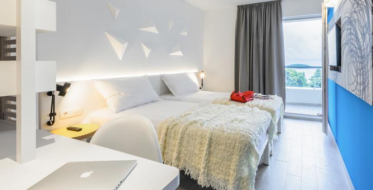 Doppelzimmer Balkon Meersicht - Hotel Pharos