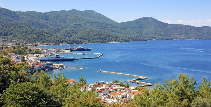 Hafen von Thassos