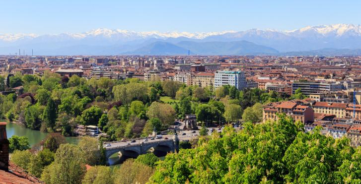 Turin d'en haut